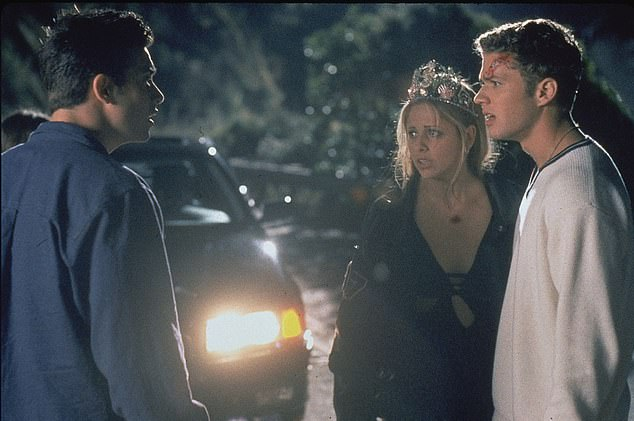 Long-lasting love; The couple first met on the set of the movie I Know What You Did Last Summer which was released in 1997 (pictured with Ryan Phillippe). They were friends for a long time before starting to date in 2000 and tying the knot two years later