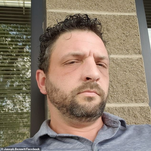 Joe Bennett, of Jeffersontown, Kentucky, was the victim of an alleged assault by a police officers after he was accosted for filming a separate arrest last week