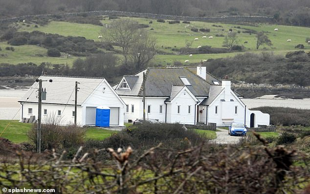 Isolation pad?The stars were believed to be isolating at a selection of luxury cottages in Anglesey, with many of the locations reportedly being guarded by security