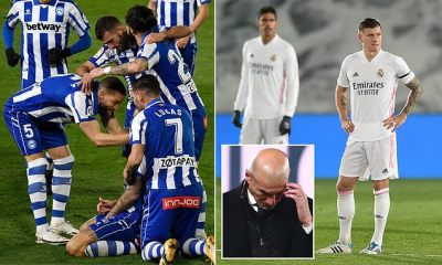 Real Madrid 1-2 Alaves: Alaves earn first win at Bernabeu since 2000
