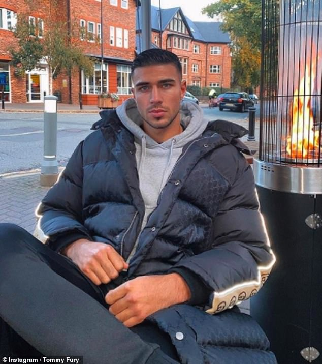 Defiant:Tommy Fury has said he 'doesn't regret a single thing' which has happened in the time since he finished runner up on Love Island