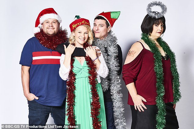 Show: The actress, 43, who plays Stacey on the hit series, reckons creators Ruth Jones and James Corden wouldn't be able to get the cast together for long enough to do another series