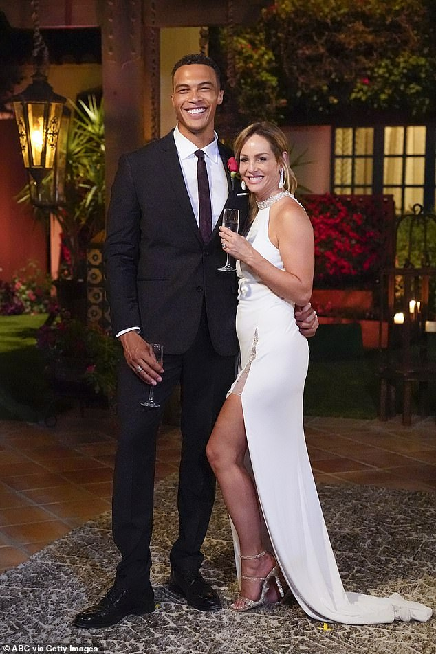 Happily engaged: Despite exiting the long-running dating show on ABC happily engaged with her 32-year-old fiancé, the reality star continues to face criticism from fans