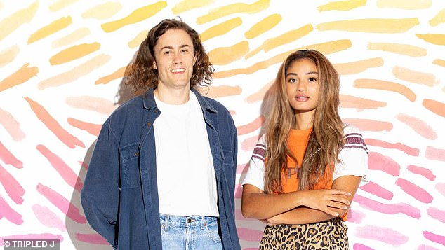 Who are they? Bryce, who previously hosted Triple J Weekend Arvos, said on Monday he was 'excited' to start his new position.Ebony is a DJ from western Sydney and has performed at festivals including Falls and Splendor in the Grass