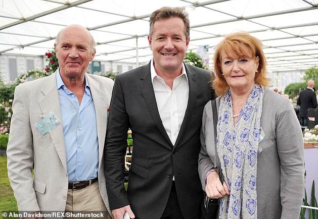 Harsh times: The anchor revealed earlier this month that her elderly parents, who are both in their mid to late seventies, had contracted the 'scary' virus (pictured in May 2012 )