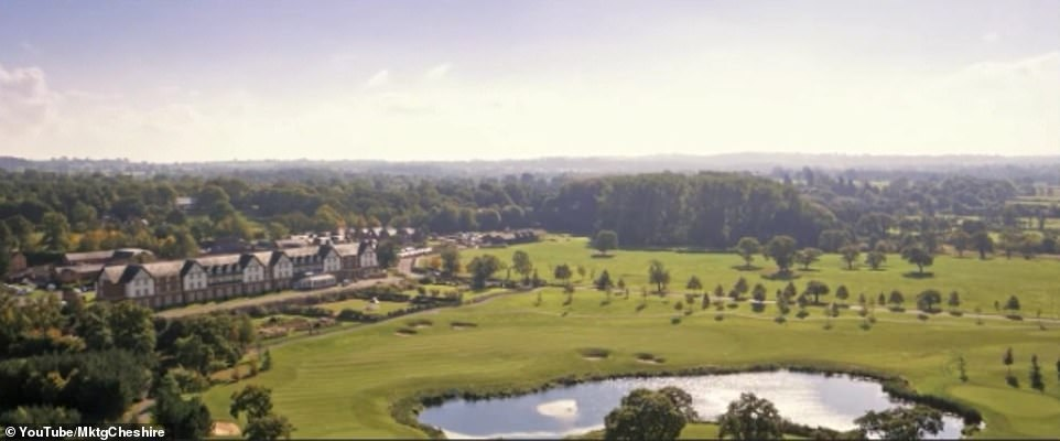 Lots to look forward to: There's a huge golf course, a £ 12million spa, and guests can enjoy tailor-made evenings, like a Bollinger Tasting