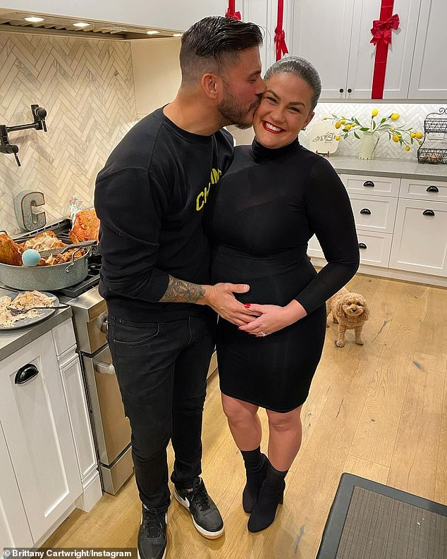 Jax Taylor cradles wife Brittany Cartwright's baby bump in sweet Thanksgiving snaps