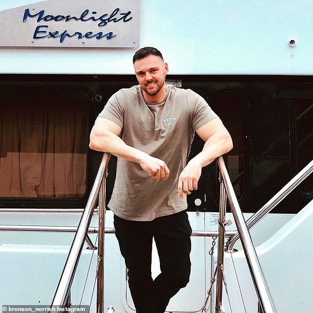 Married At First Sight star Bronson Norris, 35, (pictured) has accused the Western Australia Government of using bullying tactics to run his party-boat out of business