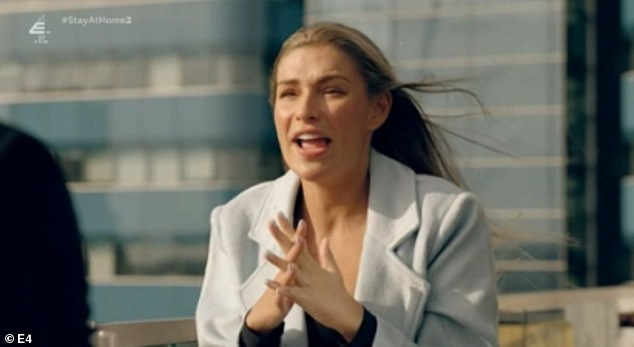 Unfaithful:Sam is on the precipice of caving in to Zara's persistent harassment but says she'll always be a cheater in Monday's Made In Chelsea