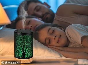 Shoppers love the diffuser for its calming properties as well as helping them sleep