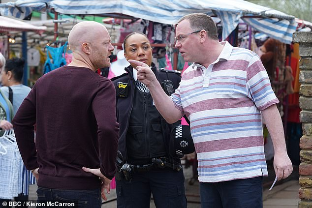 Veteran: Jake first joined the EastEnders cast in 2006, and has faced his fair share of drama, including womanising, a secret marriage and even being framed for murder