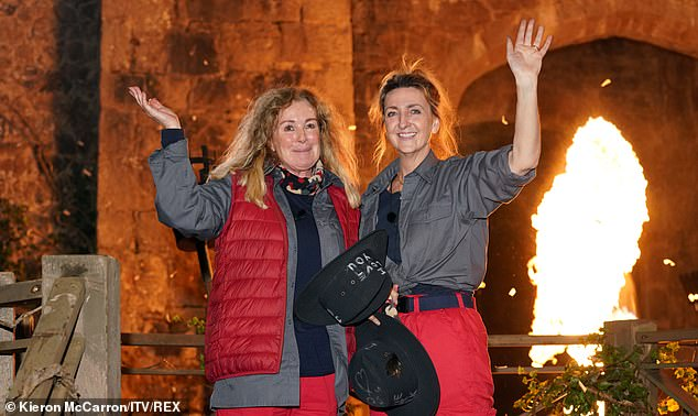 They went out!  Later in the episode, Beverley and Victoria Derbyshire were announced as the third and fourth celebrities to be evicted from Gwrych Castle in North Wales.