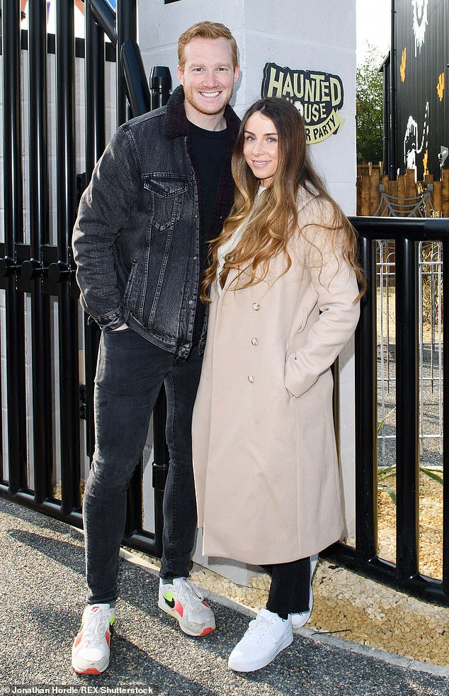 Oh baby!Greg and Susie announced they had welcomed their third child, and first daughter, on Thursday (pictured in 2019)