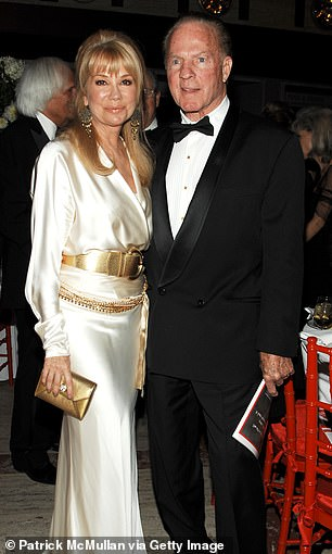 Her great love died at age 84 in 2015. They're pictured in 2010