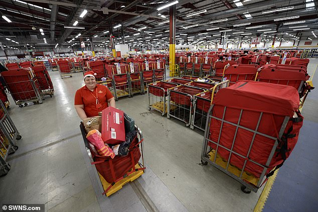 Royal Mail said letter volume fell 28% in the six months leading up to September 27 year on year and the pandemic cost it £ 85million in PPE, absences, overtime and staff from the agency.
