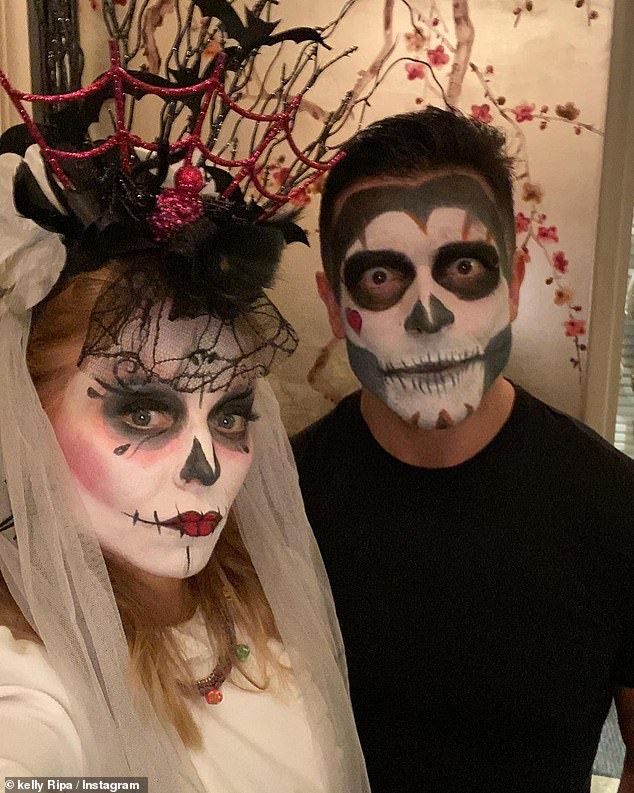 Throwback: The actor has been sharing throwback snaps, including a Halloween shot of the happy couple