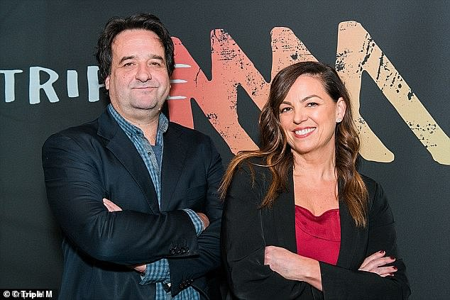 History: In 1999, Nine commissioned Mick's eponymous sketch comedy program, The Mick Molloy show. The show was axed after just eight weeks due to low ratings. Pictured Mick and Jane Kennedy