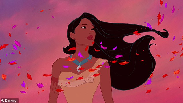 Iconic: She voiced the title character in Disney's animated Pocahontas from 1995