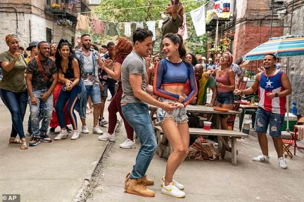 A scene from the upcoming film 'In the Heights'. Warner Bros. announced Thursday that all 17 of its 2021 movie releases will be available to subscribers on AT&T's video streaming service to view at no extra cost