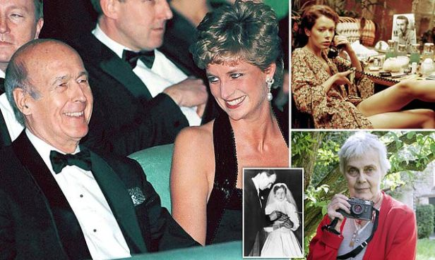 GUY ADAMS: Did Princess Diana REALLY fall for a President?