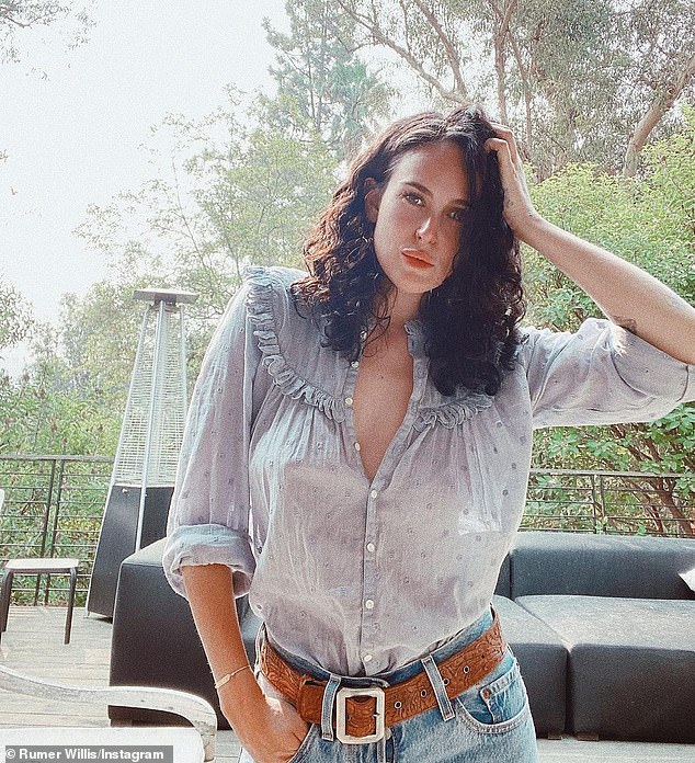 Journey:Back in September, Rumer shared a snap of herself along with a lengthy post about a 'class' she had taken aimed at 'learning about self directed kindness' and on New Year's Eve, she celebrated four years of sobriety