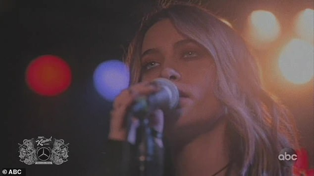 Opening up:The song was her first single off her debut album Wilted, which debuted on November 13, with Jackson opening up to People about the process