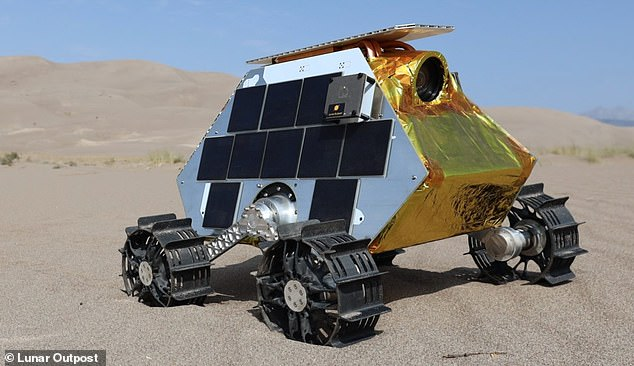 Lunar Outpost's Mobile Autonomous Prospecting Platform. The company already had plans tocollect lunar samples, so the effort to set some for NASA 'was, in fact, trivial'