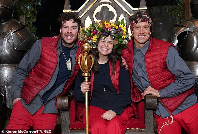 Ka-ching! I'm A Celebrity finalists Giovanna Fletcher, Vernon Kay and Jordan North are reportedly set to make 'six figure deals' after finding success on the show