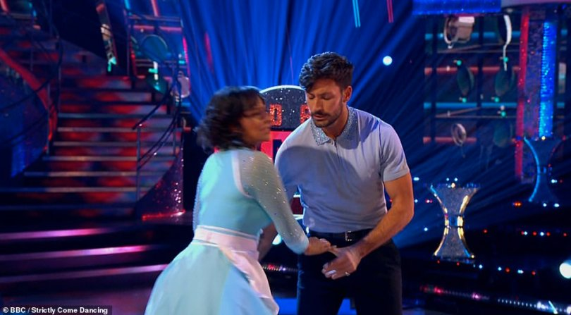 Partners:The duo put on a very emotional performance and received glowing comments from all three judges