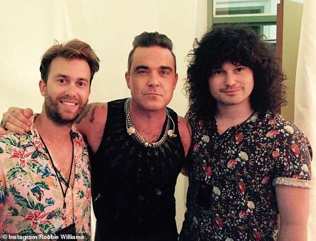 Take three?  Robbie revealed he's forming a new group with Australian songwriters and producers Flynn Francis and Tim Metcalfe, 25 on Thursday after leaving Take That