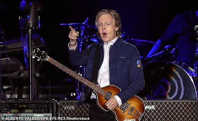 'My married head says, ''don't do this!'''Sir Paul McCartney joked about having 'sexual' dreams as he discussed finding music inspiration from his visions in a new interview (pictured in 2019)