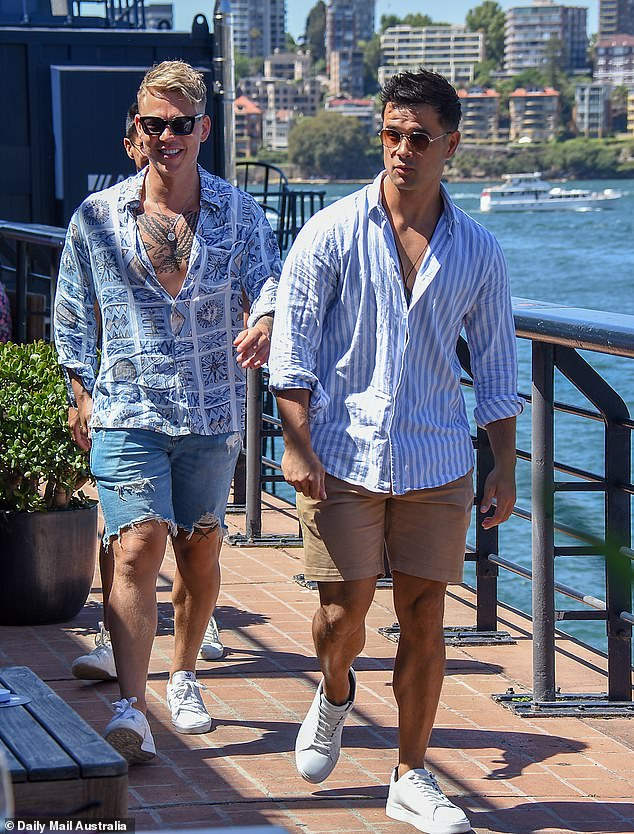 Moving in! Last month, it was revealed that Trent (left), who was previously based in Perth, would be moving into a Bondi pad with his Bachelorette co-stars Shannon (right) and Adam