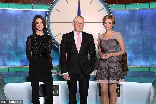 Career goals: The celebrity mathematician was simultaneously part of the Countdown team after she joined in 2009 when Carol Vorderman announced her exit from the show