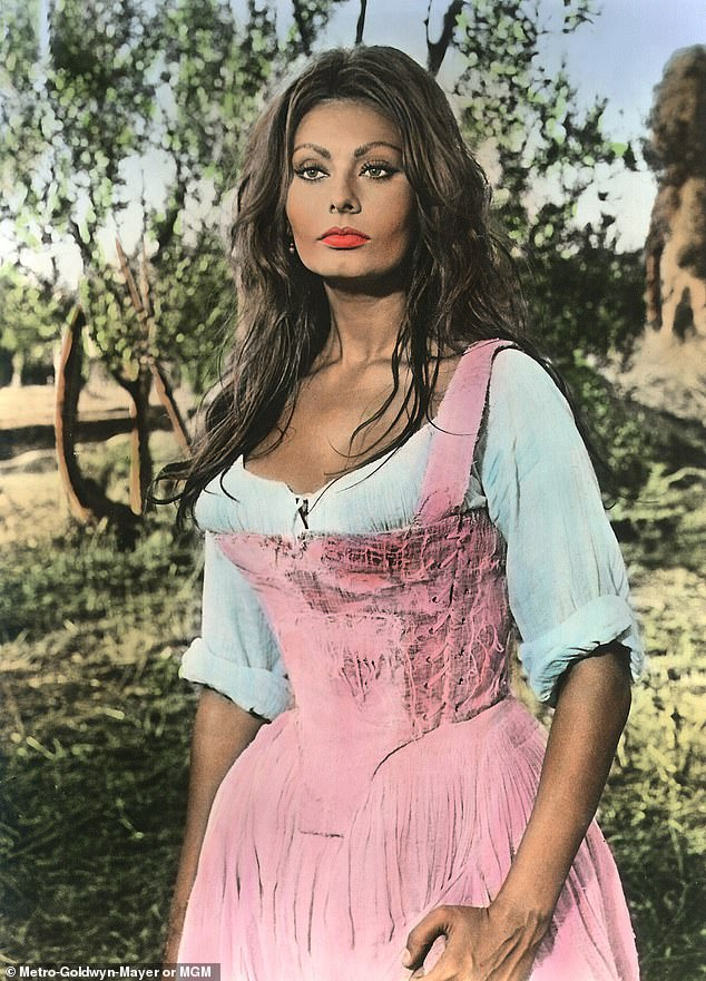 Beautiful inside and out:Number five you have to age naturally: 'Why change your body and be somebody else if you are happy inside? I never thought of that - never. I like what I have. I like me!'; Pictured in the 1967 film More Than A Miracle