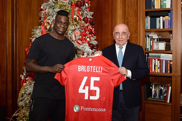 Former Manchester City and Italy star Mario Balotelli signs for Italian  second-tier side AC Monza | Daily Mail Online