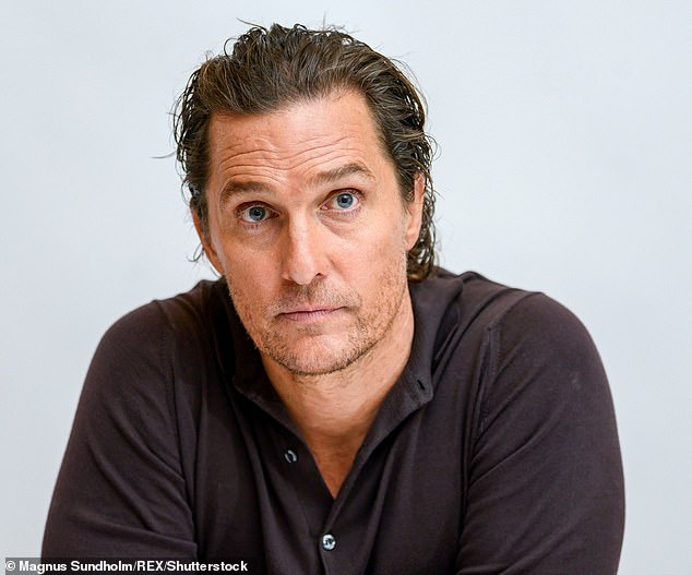 Big Aspirations: McConaughey would consider running for governor in Texas;  he is seen in january