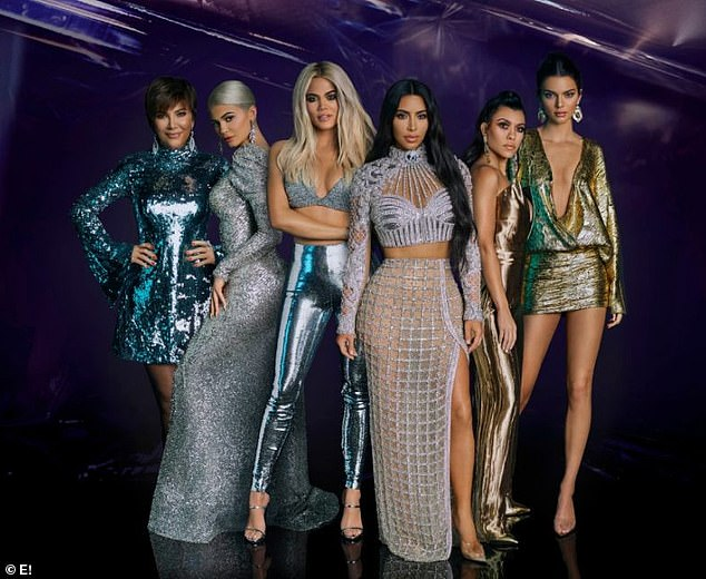 Fierce claims:The former video vixen originally filed her claim against the famous family as she accused them of defamation and causing the cancellation of the E! programme in 2017