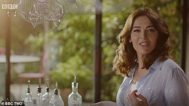Micro-what? Earlier this week, Nigella baffled fans with her pronunciation of microwave as 'meecro-wah-vey' in the latest episode of her BBC2 cooking show Cook, Eat, Repeat