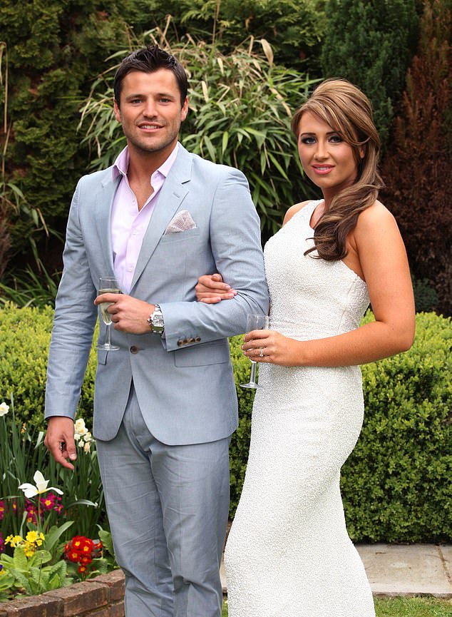 Her love: Lauren's love life has been chequered with her romance with Mark Wright being at the centre of her rise to fame on reality TV