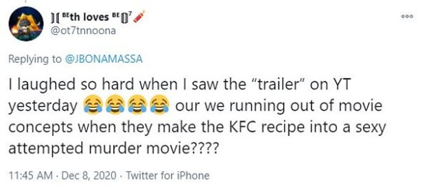what to say?  When the mini-movie trailer dropped on 7 December, confused viewers had a hard time seeing what they were watching, with many asking if the film was 'real'