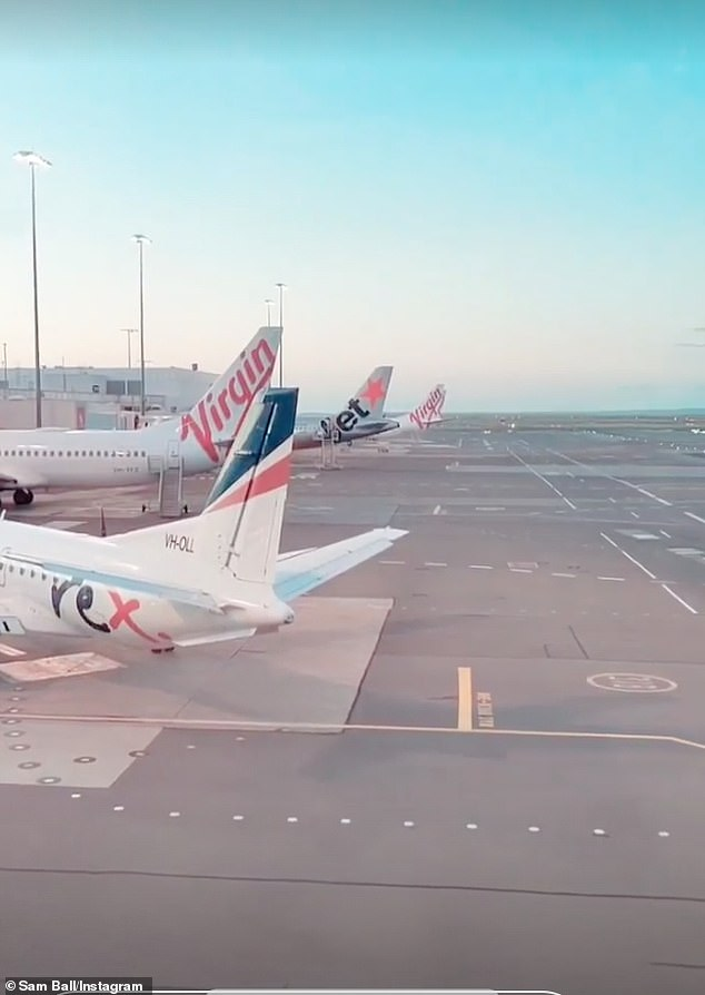 Reunion: He shared one picture after landing in Sydney on Wednesday morning. It appears, the 27-year-old may actually be returning to the reunion episode as an intruder