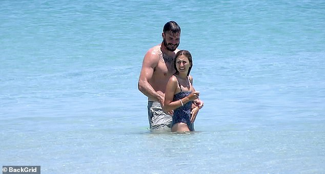 Wedding bells: Last week, Locky told Daily Mail Australia that they've even spoken about getting engaged, after Irena relocated to Perth to live with him after the dating show