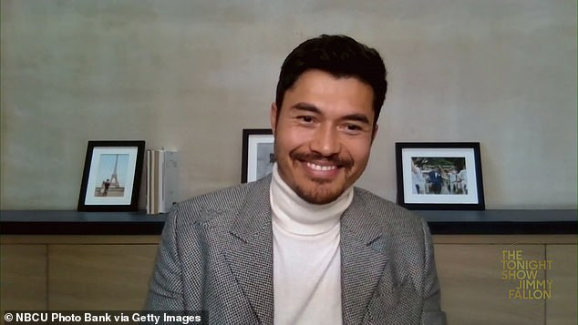Newish to the scene:Golding has relatively few credits to his name thus far, with only two smaller films listed before his 2018 big break, Crazy Rich Asians; seen here last month