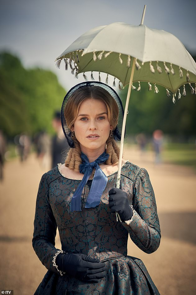 In character:Alice played Susan Trenchard in Belgravia which had five million viewers watch the series finale