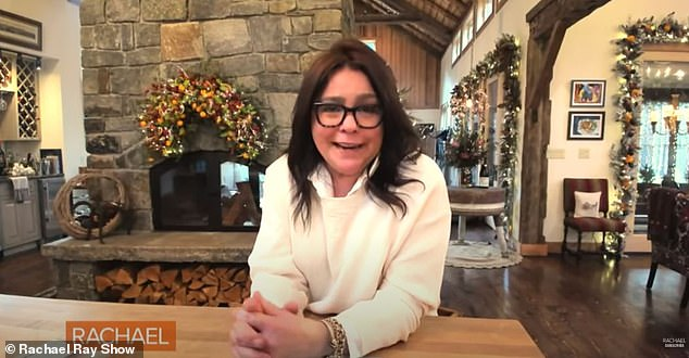Rachael Ray gives emotional tour of holiday décor in guest house 4 months after mansion burned down