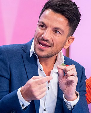 Addressed: In another development on Wednesday, Rebekah addressed comments she made about Peter Andre's (pictured) manhood in an old interview