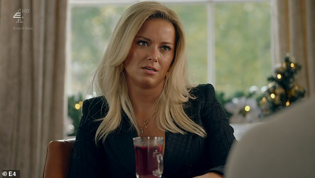 Not impressed: Verity mentioned this to Paris, who ran to Liv [pictured] and told her, as Liv started to develop feelings for Tristan