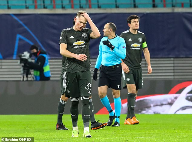 But Scott McTominay and Manchester United were eliminated from the competition on Tuesday