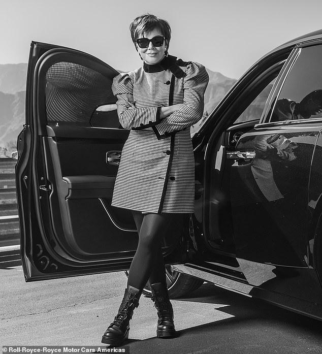 Kris Jenner Rolls-Royce Ghost 2021