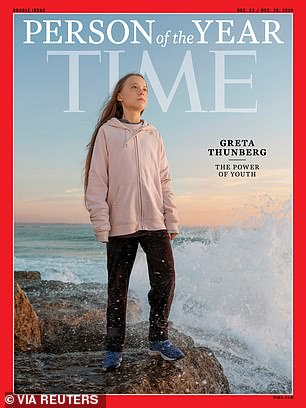 Last year, he picked 17-year-old Greta Thunberg as his person of the year.  The young Swede has been recognized for her activism in favor of climate change awareness.